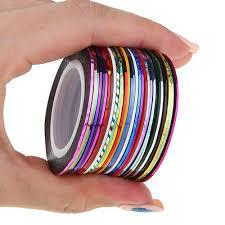 Набор лент для дизайна ногтей ,30шт