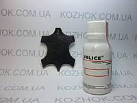 Краска для кожи Felice цв.Черный (25 мл)Для обуви,гладкой кожи, кожгалантереи, кожаной мебели, кожаного салона