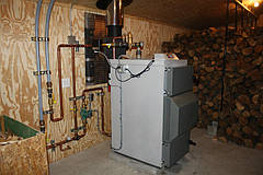 Преимущества отопления на дровах