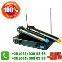 Профессиональные радиомикрофоны (2шт) UKC Evolution Wireless EW-500H