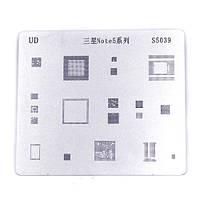 BGA трафарет S5039 для реболлинга Samsung Galaxy Note 5