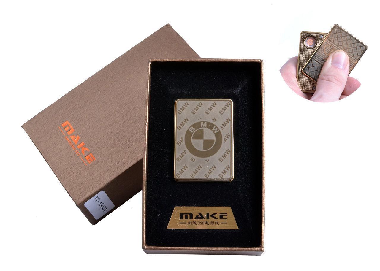 """USB зажигалка в подарочной упаковке """"BMW"""" №4693A-1"""
