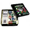 Покерный набор на 100 фишек с номиналом в металлической коробке №100t-2, фото 2