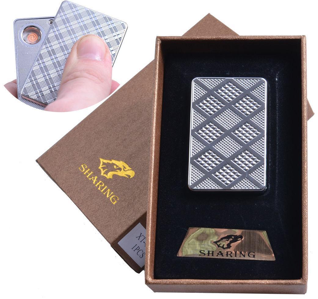 Зажигалка подарочная (USB) №4702-1
