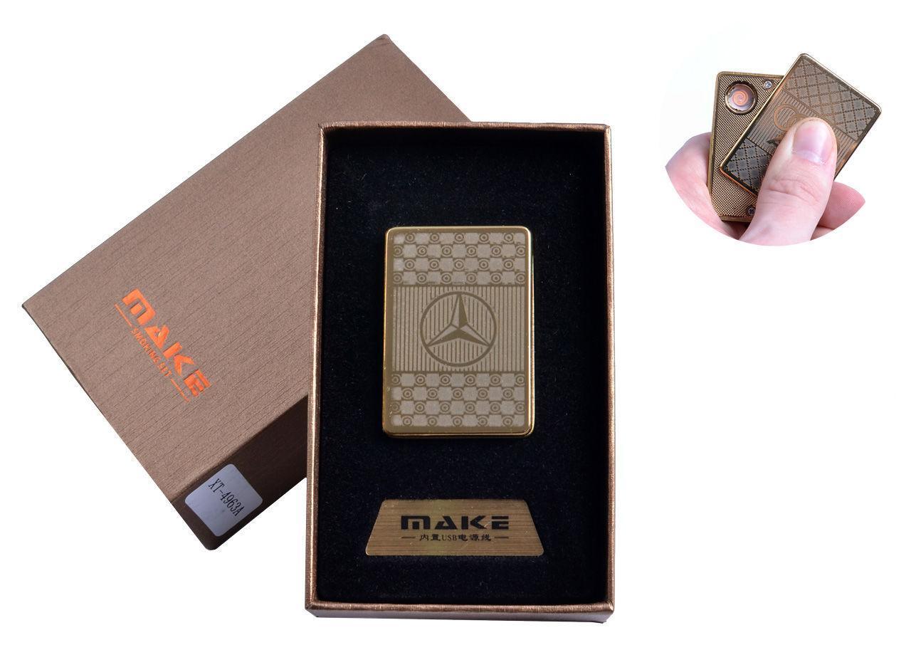 """USB зажигалка в подарочной упаковке """"Мерседес"""" №4693A-2"""