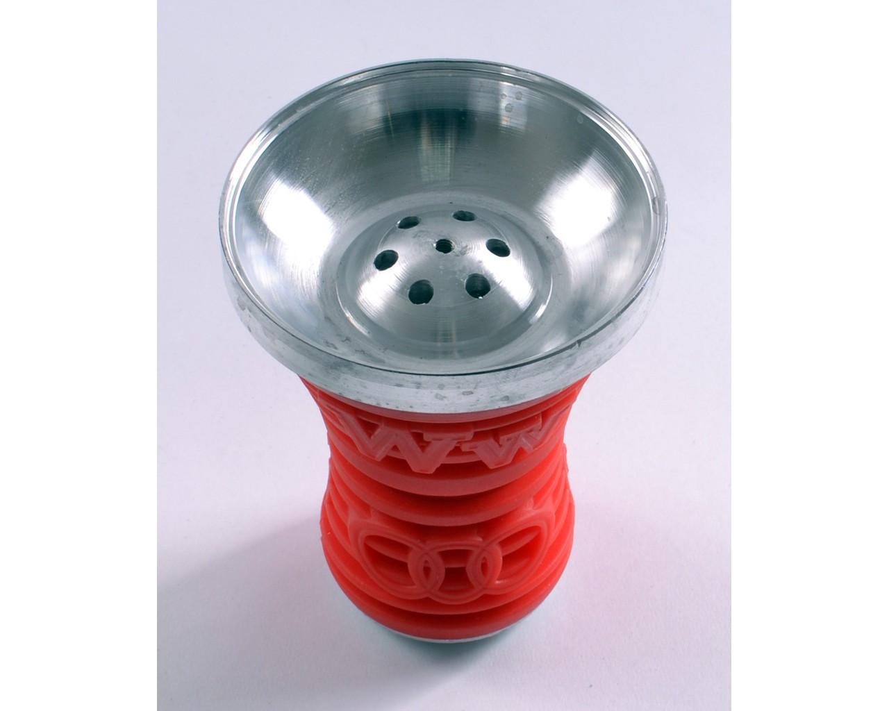 Чаша для кальяна большая (красная) №A-12-4