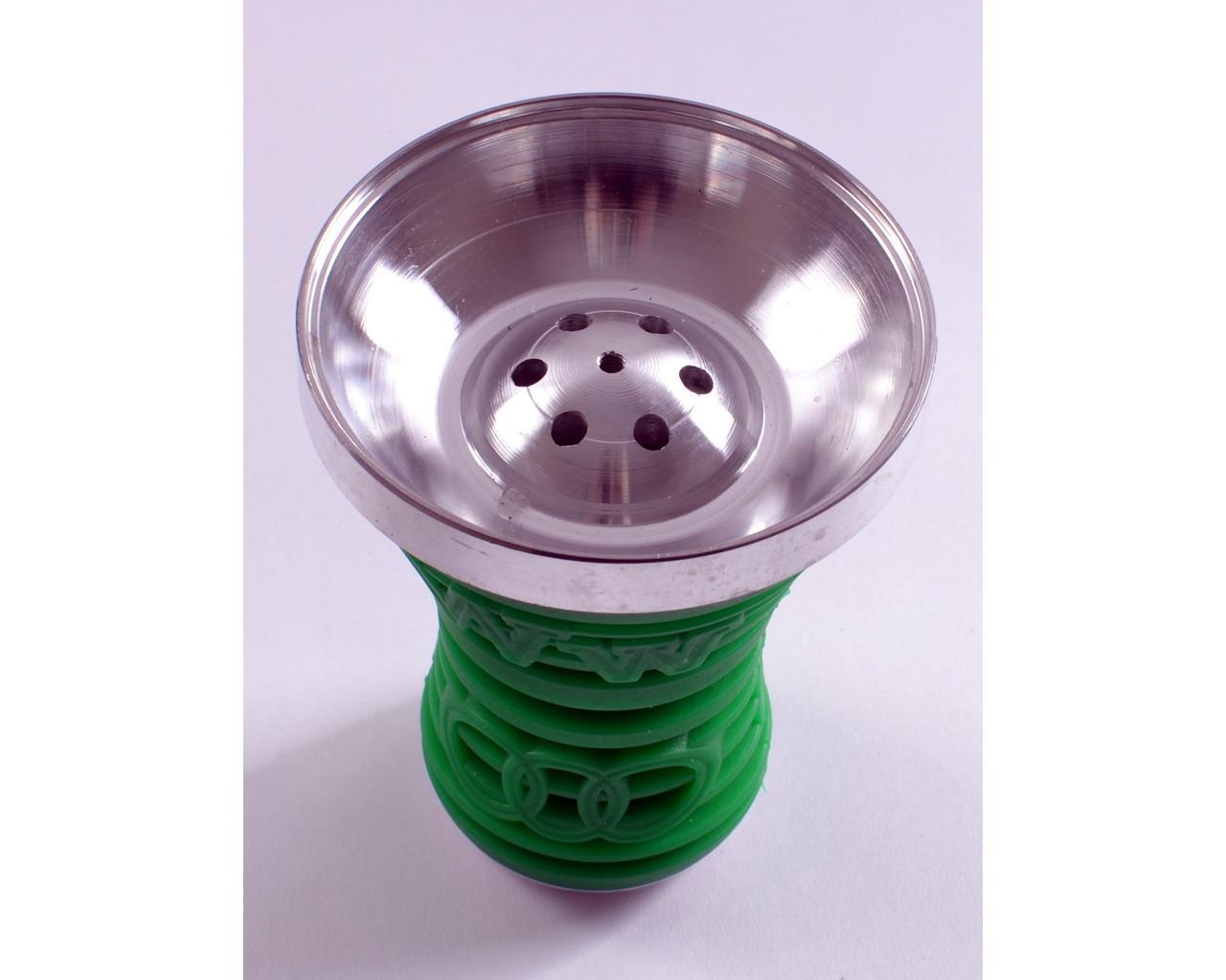 Чаша для кальяна большая (зеленая) №A-12-2