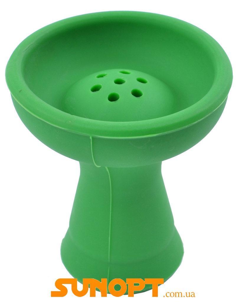 Чаша для кальяна силикон (большая) №908 Зеленая