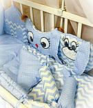 Постельный комплект в детскую кроватку, фото 2