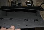 Мотосумки - батон. Чорний кожзам. 31 см (довжина) 13 см (діаметр), фото 8