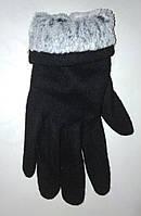 Женские кашемировые перчатки на меху