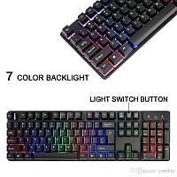 Клавиатура KEYBOARD KR-6300 с подсветкой, фото 1
