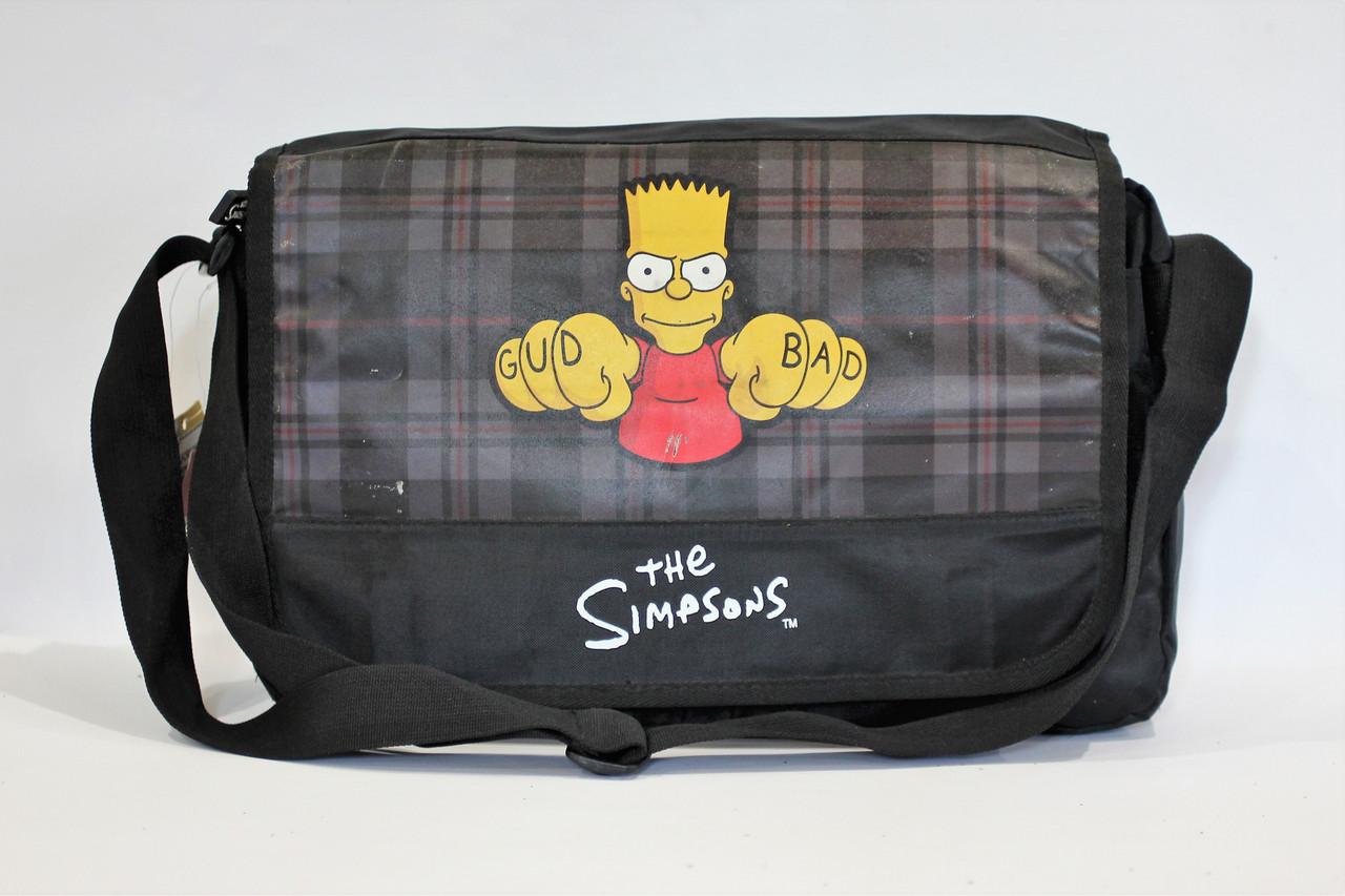 Сумка-почтальон с рисунком The Simpsons.