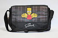 Сумка-почтальон с рисунком The Simpsons., фото 1