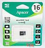 Карта памяти microSD Apacer 16 GB class 4