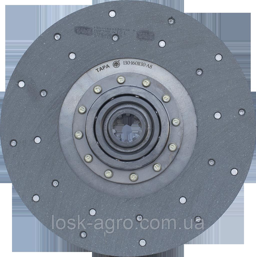 Диск зчеплення (Фередо) ведений на а/м ЗІЛ-130 (на кульках) 130-1601130-А8