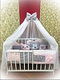 Постельный комплект в детскую кроватку, фото 6