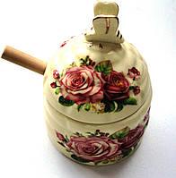 Медовница фарфоровая в подарочной упаковке