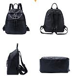 Рюкзак городской черный, фото 3