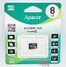 Карта памяти microSD Apacer 8 GB class 4