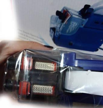 Этикет-пистолет двухстрочный MX-6600