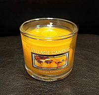 """Арома свеча """"Апельсин Корица"""" в стекле Village Candle 36 гр"""