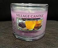 """Аромасвеча """"Медовый пачули"""" в стекле Village Candle 36 гр"""