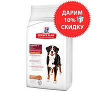 Hill's SP Canine Adult Large Breed Lamb & Rice для взрослых собак крупных пород 3 кг