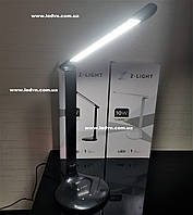 Светодиодная настольная лампа 10 ватт черная с регулируемым цветом  свечения и яркостью