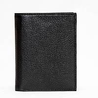 Мужское портмоне кожаное черное Eminsa 1023-12-1