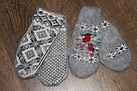Женские шерстяные варежки двойные))) Оформление варежки разнообразное в ассортименте!!!!