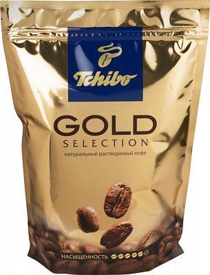 Растворимый кофе Tchibo Gold Selection в мягкой упаковке (дойпак)  75 г