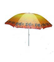 Umbrella 180 cm palma Пляжный зонт С наклоном и напылением