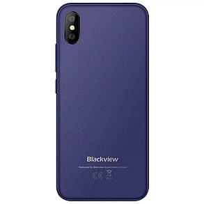 Смартфон Blackview A30 Blue 2\16Гб сканер лица + чехол + пленка, фото 2