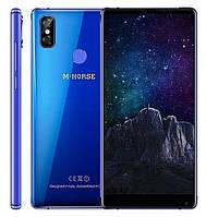 """Смартфон M-Horse Pure 2 Blue 4/64Gb, 16+2/13Мп, MT6750, 2sim, 5.99"""" IPS, 3600мАч, GPS, 8 ядра, 4G, фото 1"""