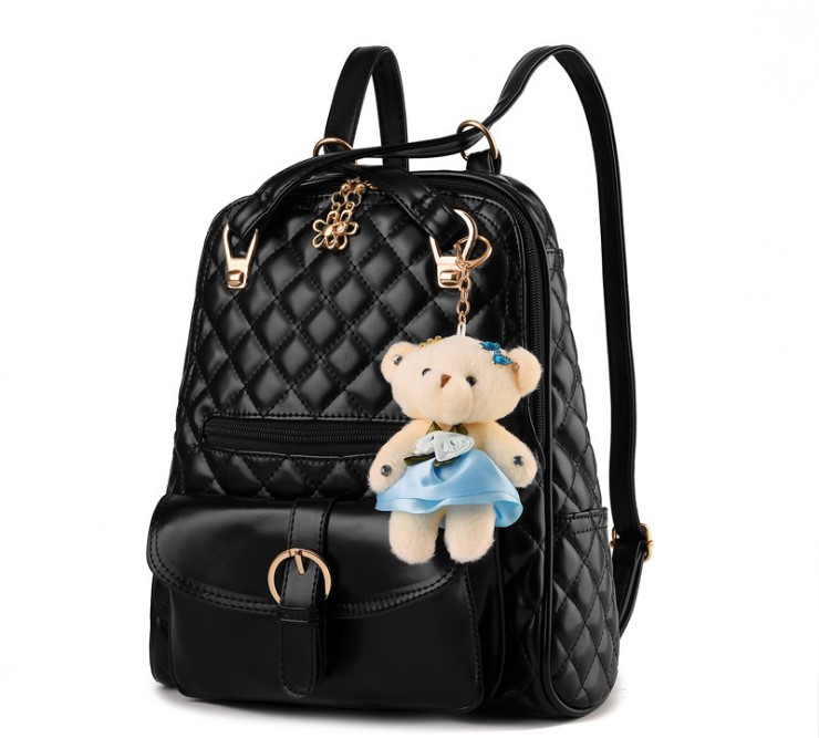 Рюкзак женский городской Сhamomile с медвежонком