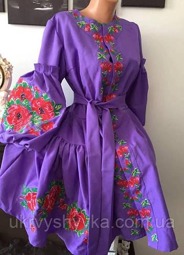 Дизайнерське вишите плаття