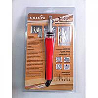 Прибор для выжигания с ножом, 6 насадок и подставка TP-112