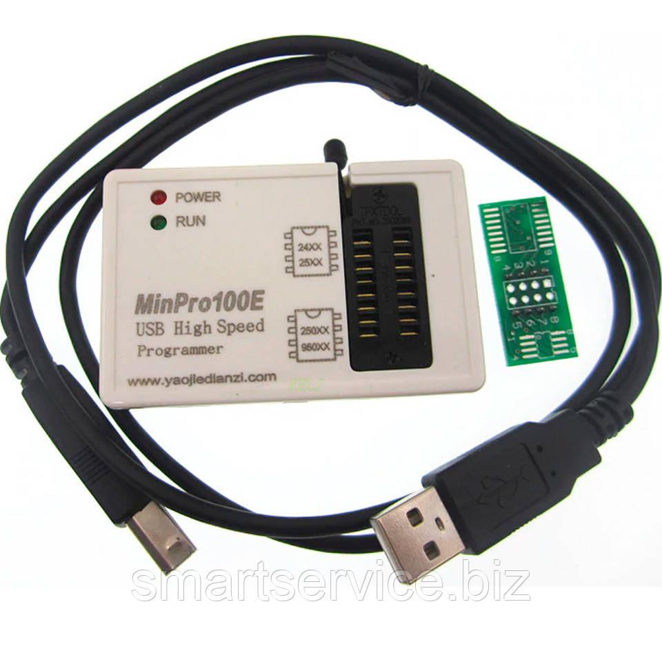 USB программатор Minpro100E; BIOS SPI FLASH 24/25/95