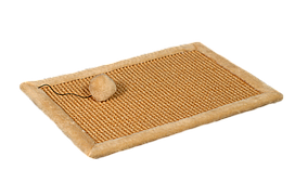 Кігтеточка-килимок з іграшкою на гумці