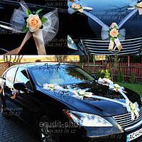Прикраси на весільний автомобіль