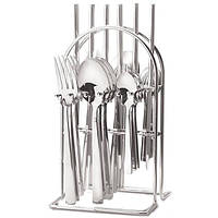 Набор столовых приборов на металлической подставке 24 пр Maestro MR-1527