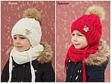Красивый вязанный шарф, фото 5