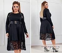 Женское платье Батал Портупея, фото 1