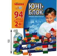 """Конструктор """"Юни-блок"""" (94 детали) 0125"""
