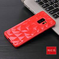 Силиконовый чехол Rhombus Diamond Case для Samsung Galaxy A8 Plus