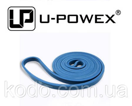 Резиновая петля (на 2-16 кг) для подтягиваний и занятий спортом, U-Powex латекс 100%, фото 2