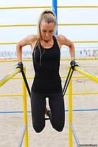 Резиновая петля (на 2-16 кг) для подтягиваний и занятий спортом, U-Powex латекс 100%, фото 3