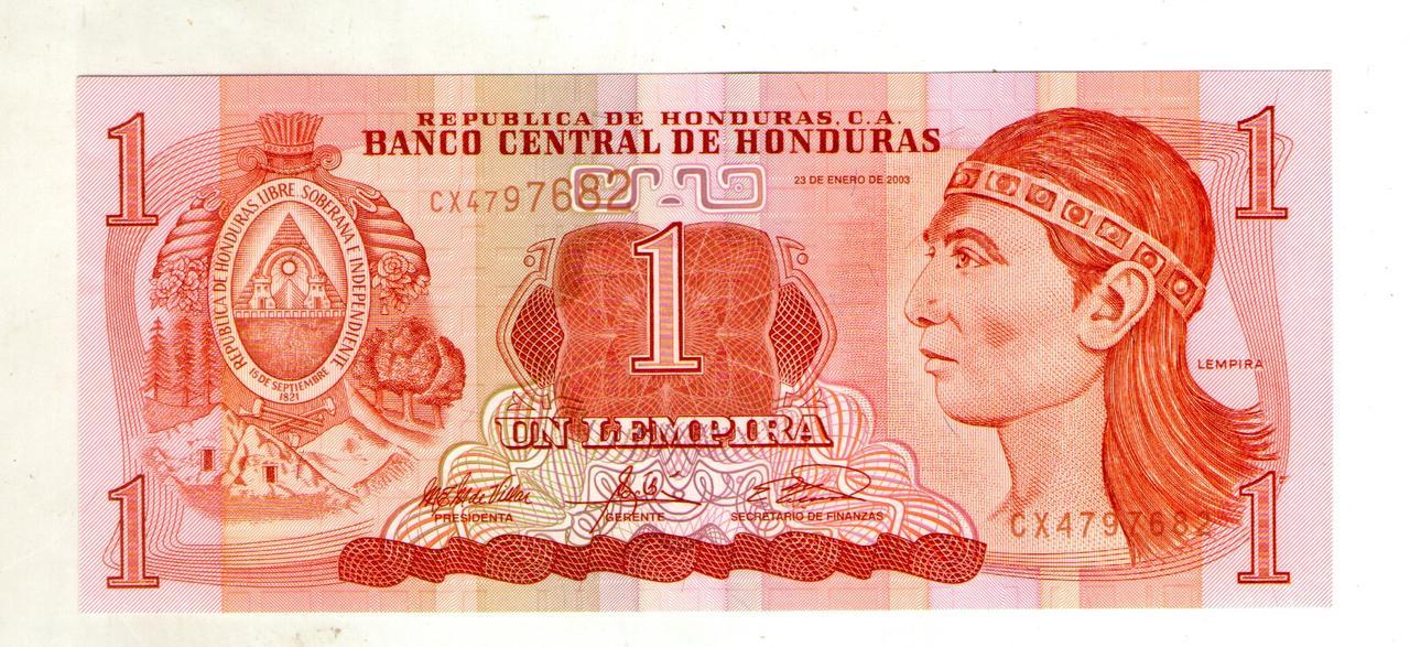 Гондурас 1 лемпіра 2000 рік стан UNC №38