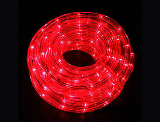 Гірлянда Дюралайт LED червона 10 метрів з контролером